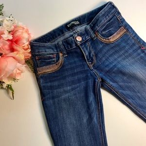 Express Ankle Studded Jeans 👖